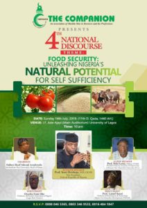 The National Discourse 2019 by The Companion, Nigeria